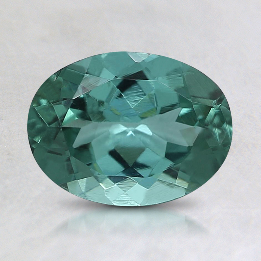 8x6mm Teal Oval Tourmaline