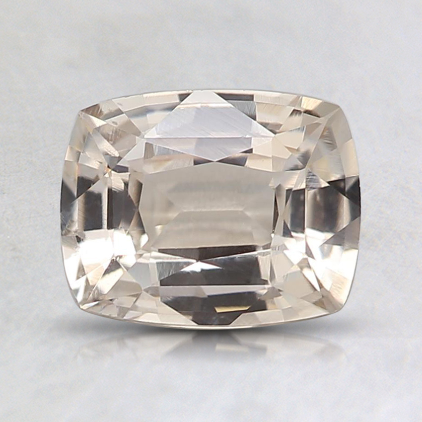 7.2x5.7mm Unheated Peach Cushion Sapphire