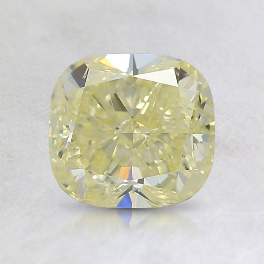 1.50 Ct. Fancy Yellow Cushion Diamond
