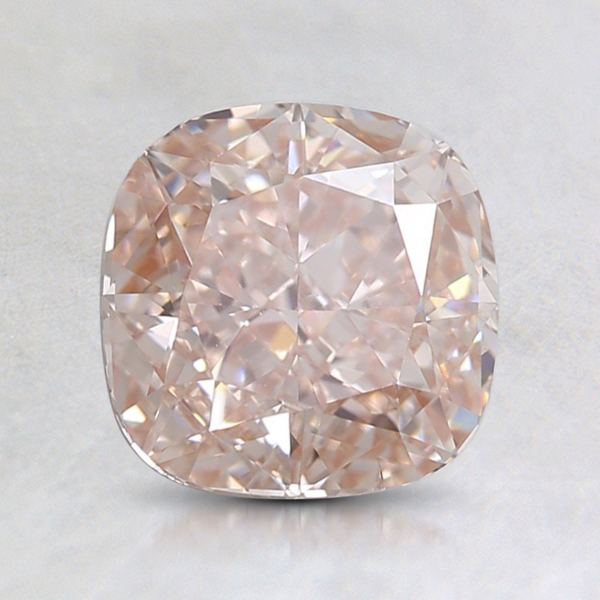 1.55 Ct. Light Pink Cushion Lab Created Diamond