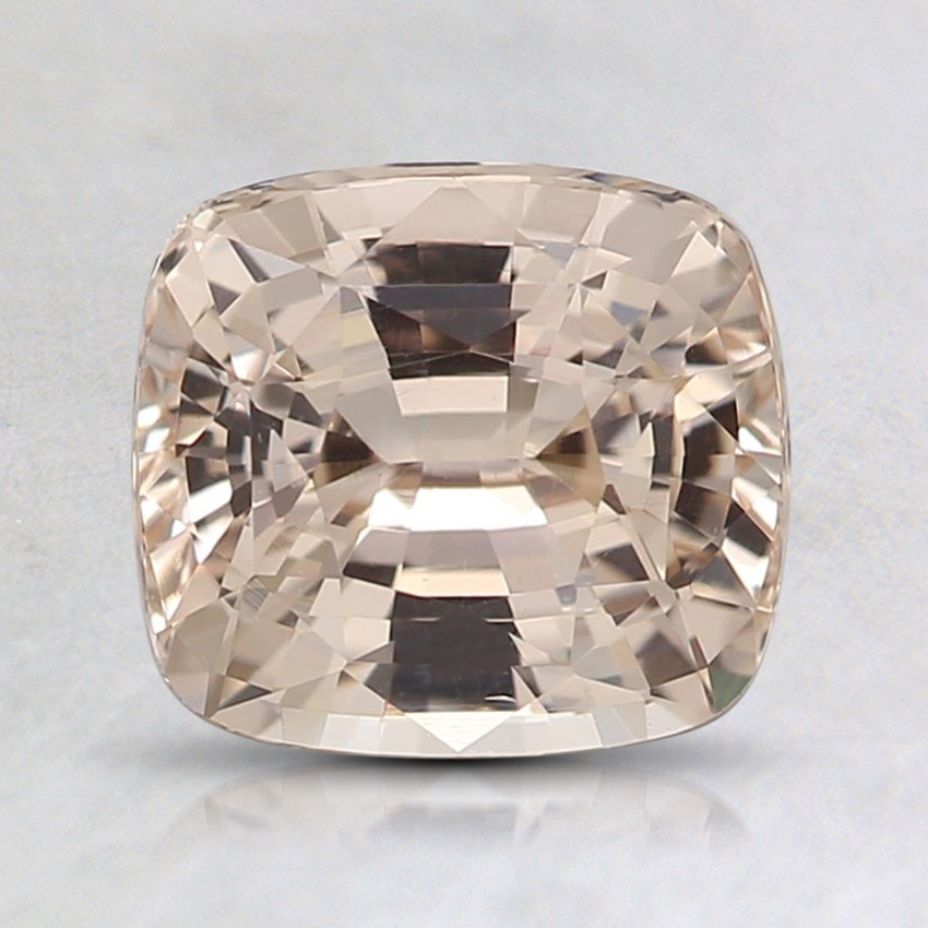 7.1x6.4mm Unheated Peach Cushion Sapphire