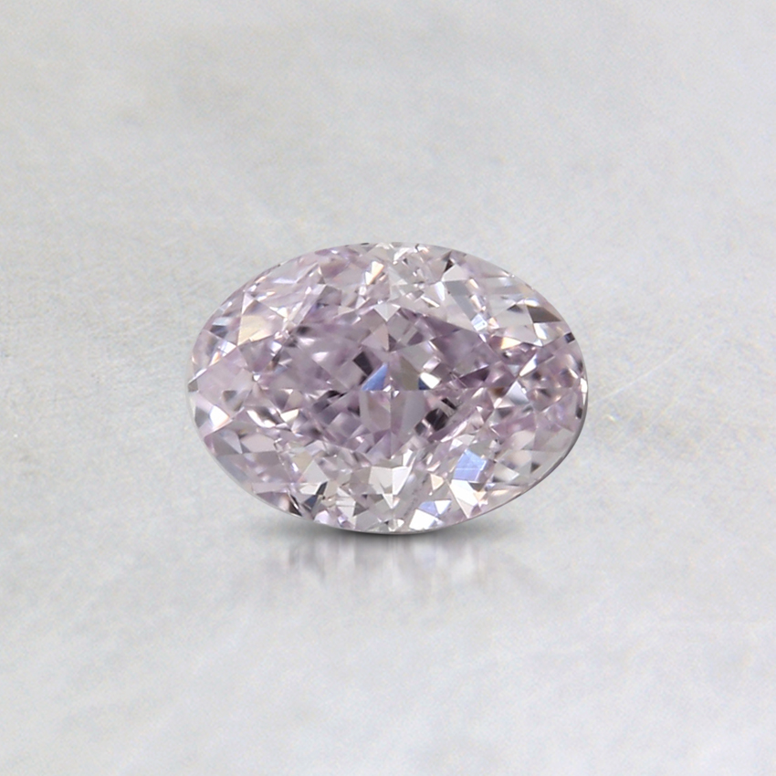0.42 Ct. Fancy Purple-Pink Oval Colored Diamond