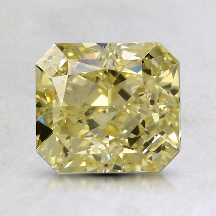 2.01 Ct. Fancy Intense Yellow Radiant Colored Diamond