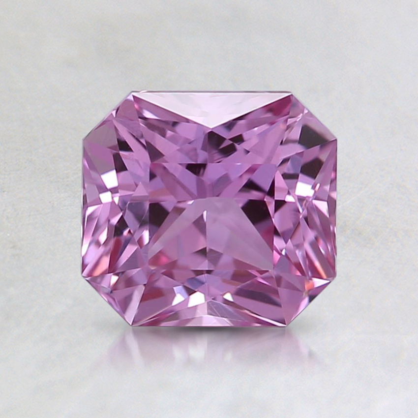 6.3x5.8mm Unheated Pink Radiant Sapphire