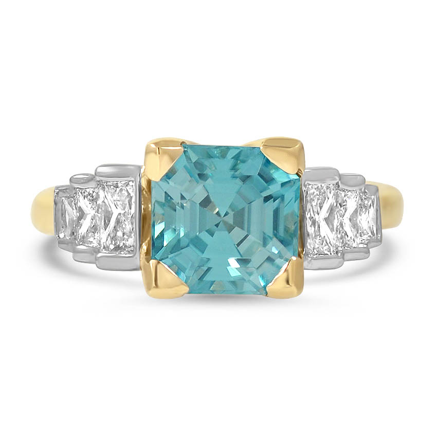 Retro Zircon Vintage Ring
