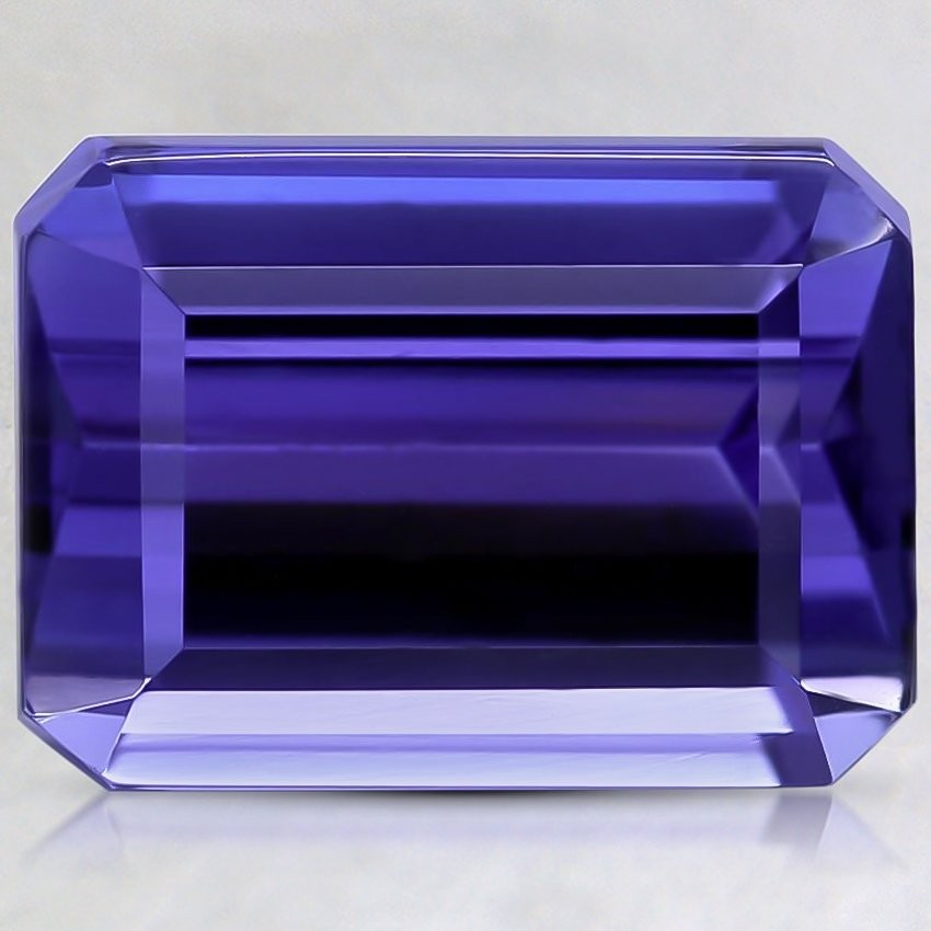 12.3x8.9mm Premium Purple Emerald Tanzanite