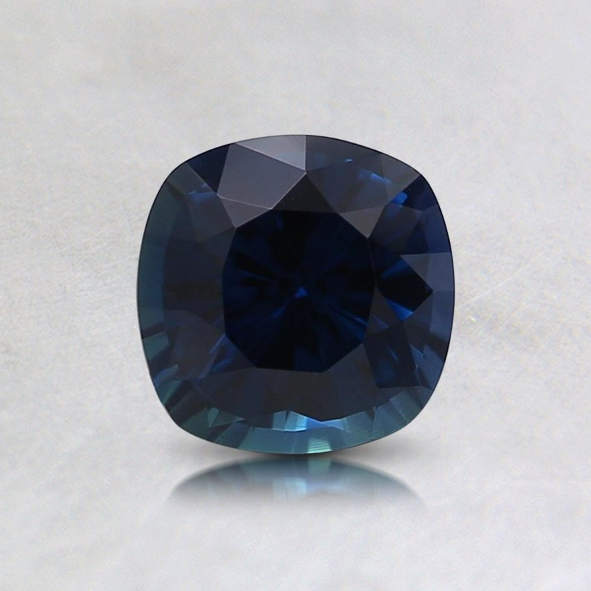 5.5mm Super Premium Blue Cushion Sapphire