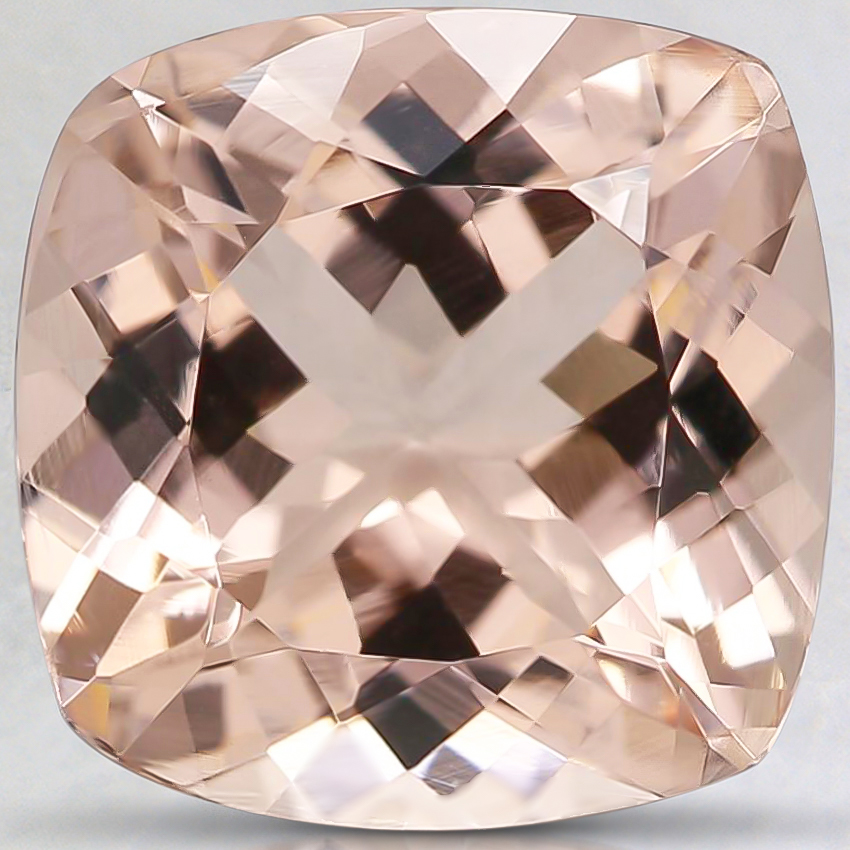 10mm Peach Cushion Morganite