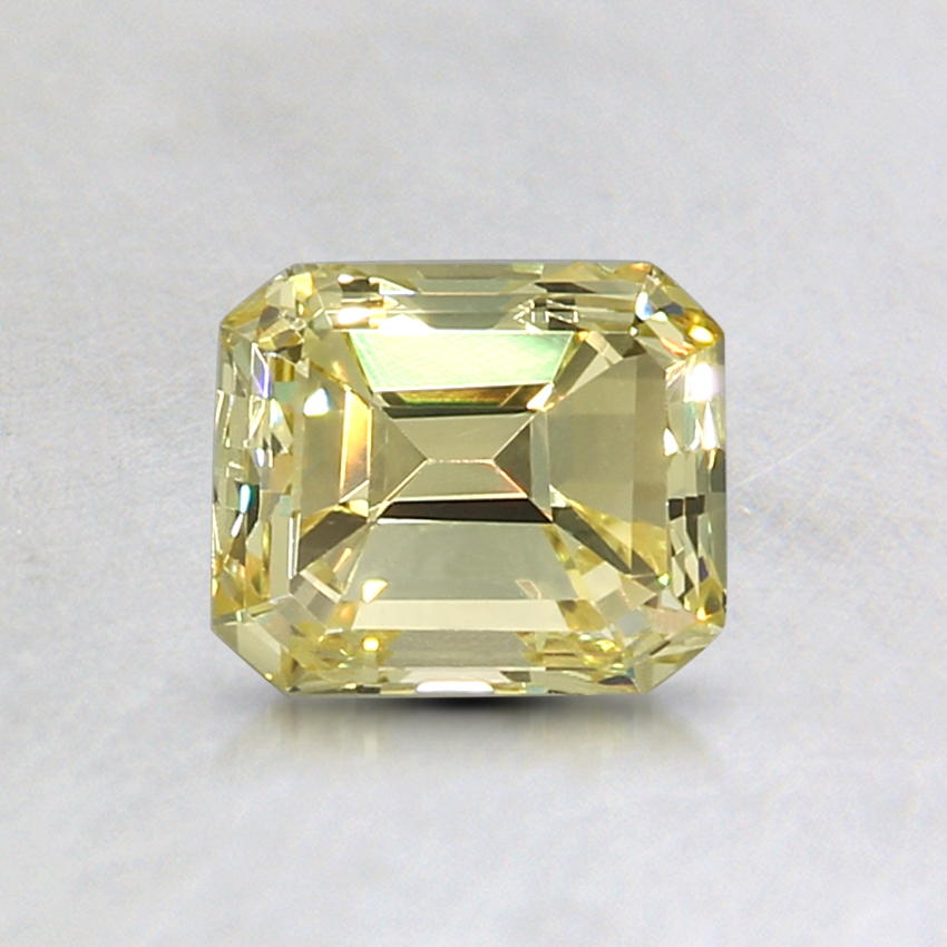 0.72 Ct. Natural Fancy Intense Yellow Emerald Diamond