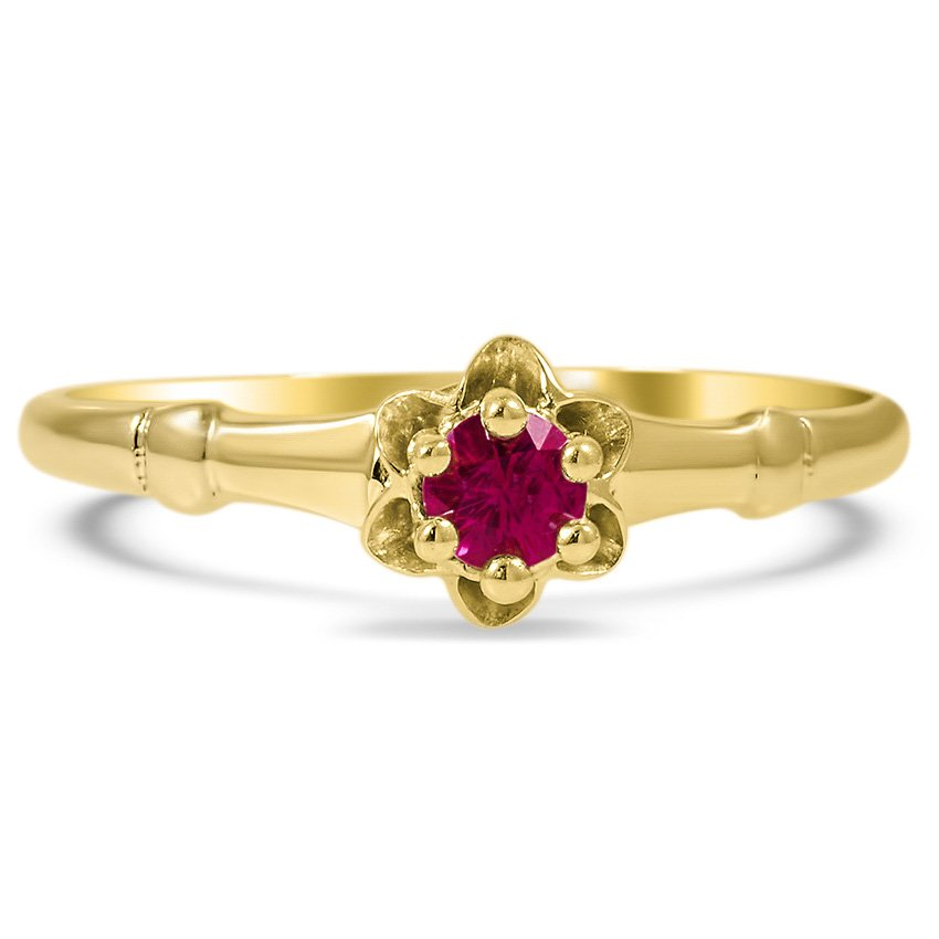The Julianne Ring, top view