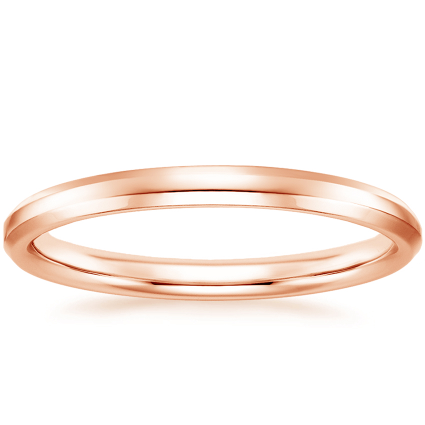 Rose Gold Finley Wedding Ring