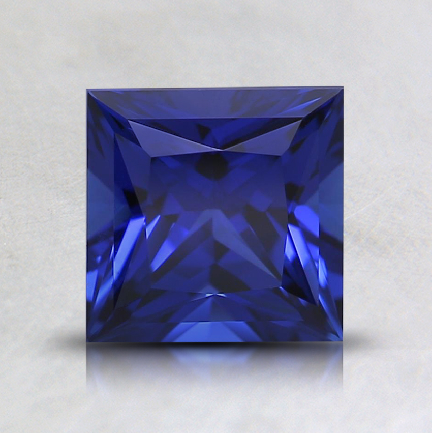 6mm Blue Princess Lab Created Sapphire