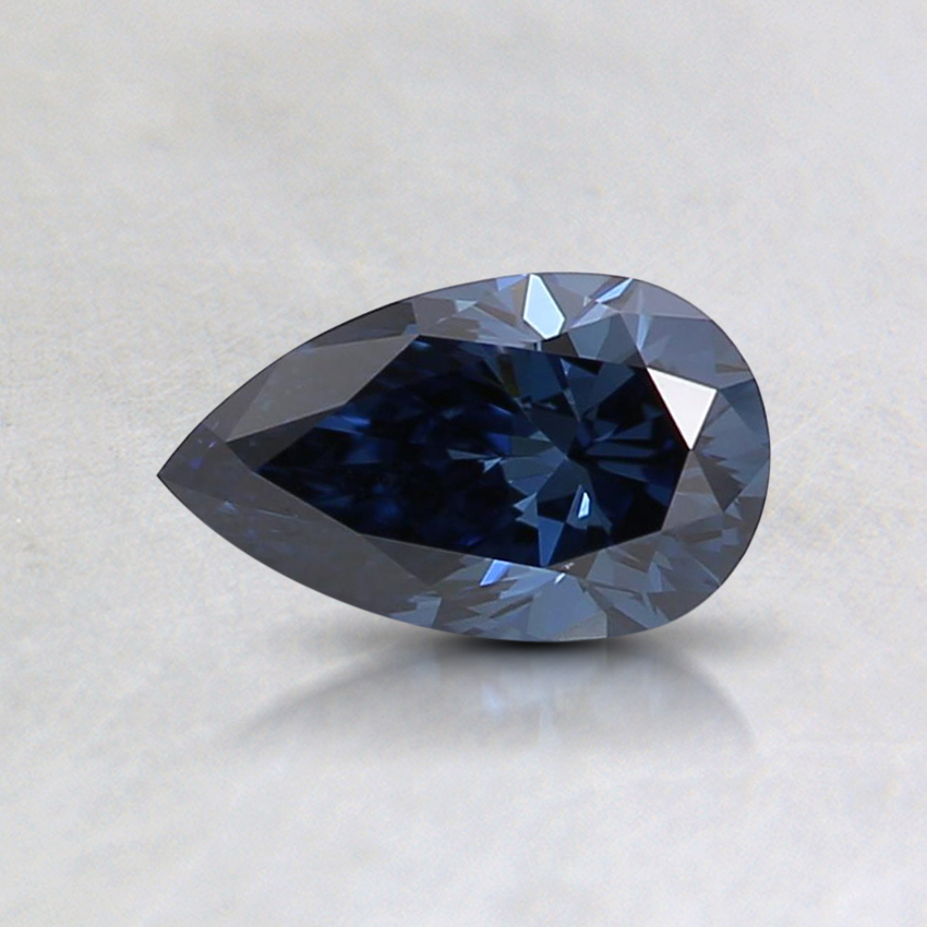 0.45 Ct. Fancy Deep Blue Pear Lab Created Diamond