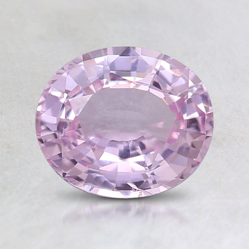 7.3x6.2mm Pink Oval Sapphire