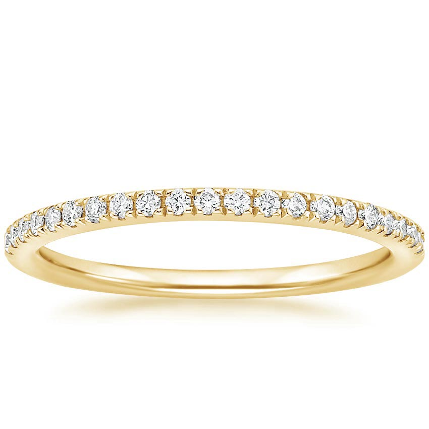 Yellow Gold Ballad Diamond Ring (1/6 ct. tw.)