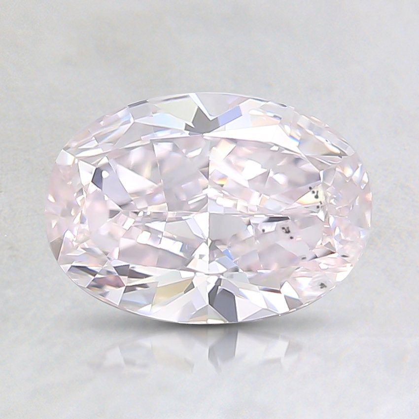 0.80 Ct. Fancy Light Pink Oval Diamond