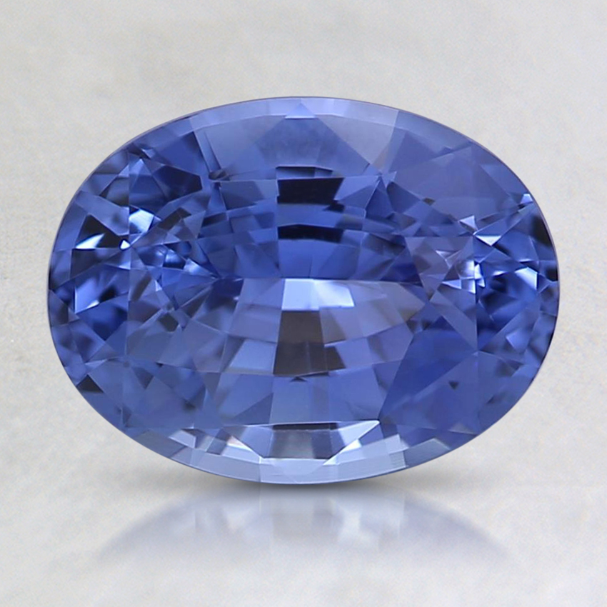 8.6x6.5mm Violet Oval Sapphire