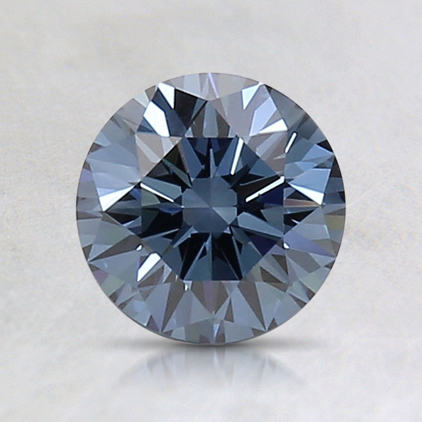 1.02 Ct. Fancy Deep Blue Round Lab Created Diamond