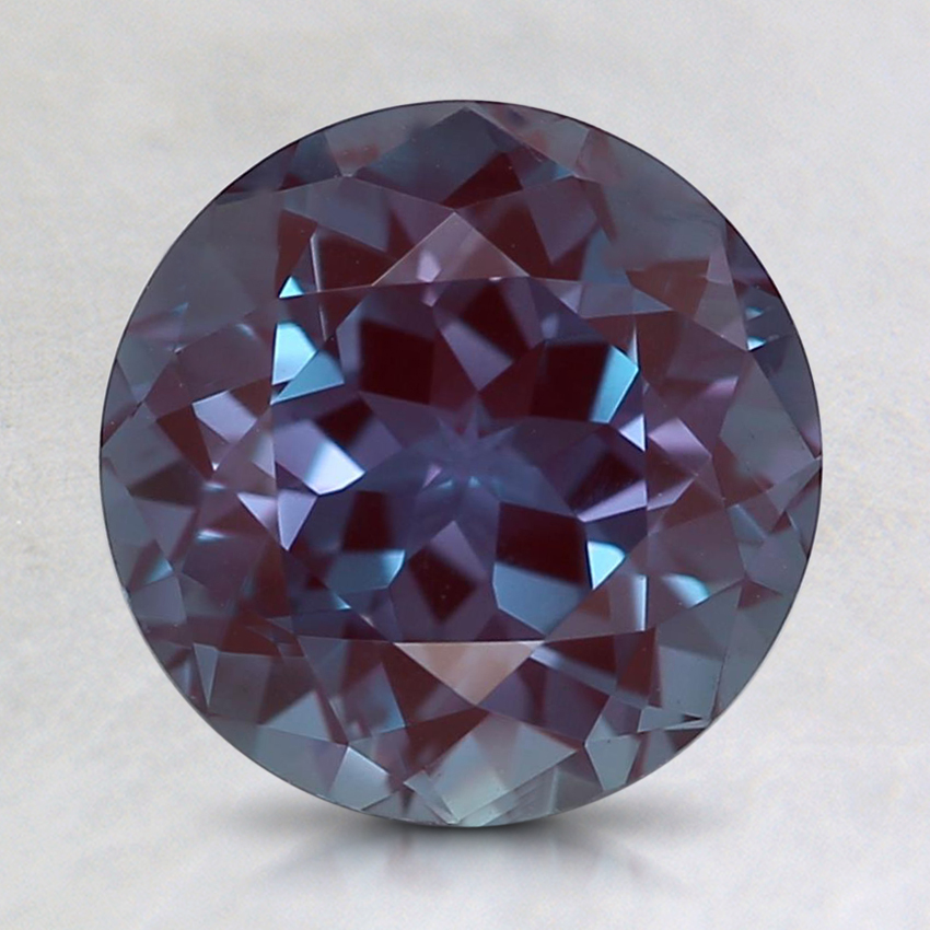 8mm Purple Round Lab Created Alexandrite