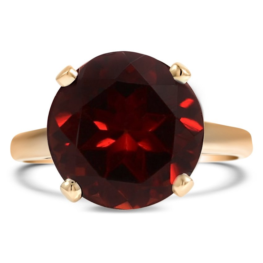 Retro Garnet Cocktail Ring