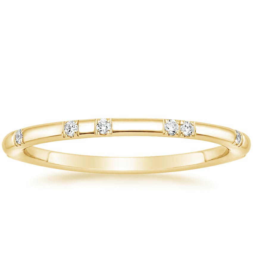 Yellow Gold Astra Diamond Ring