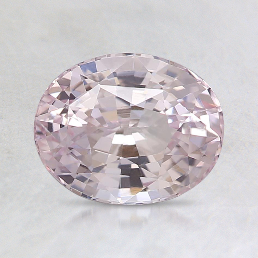 7.5x6mm Unheated Pink Oval Sapphire