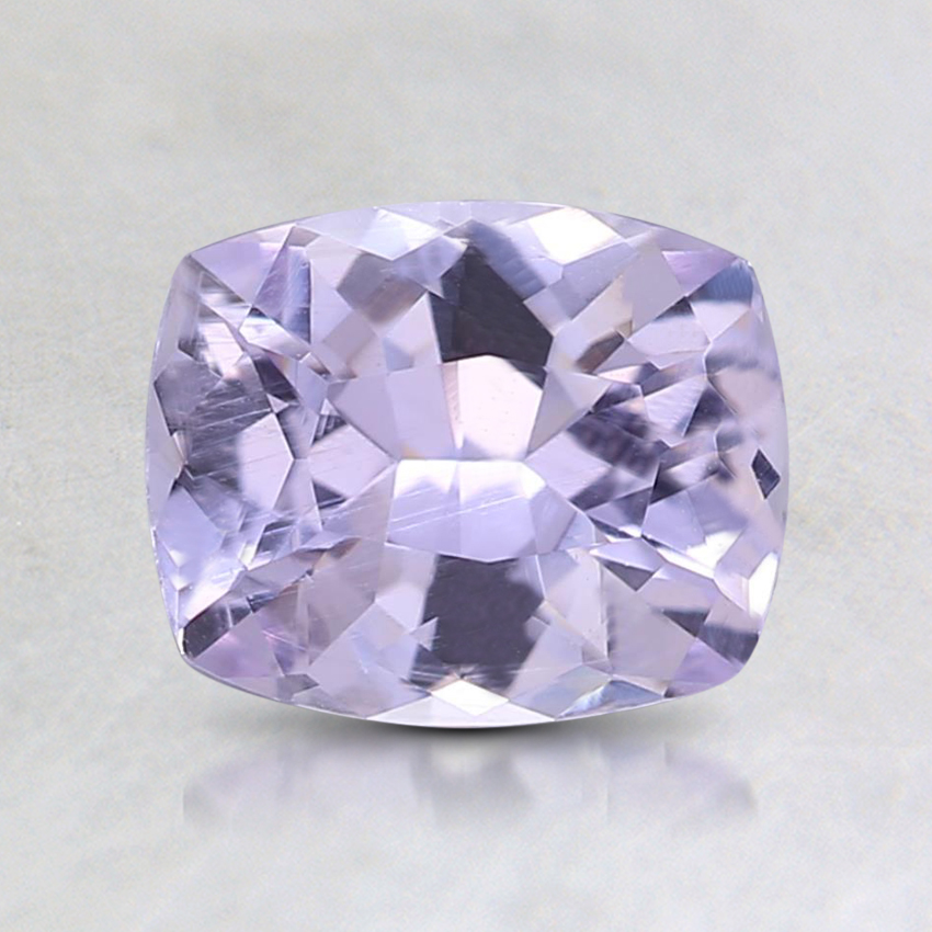 7x5.7mm Unheated Purple Cushion Sapphire