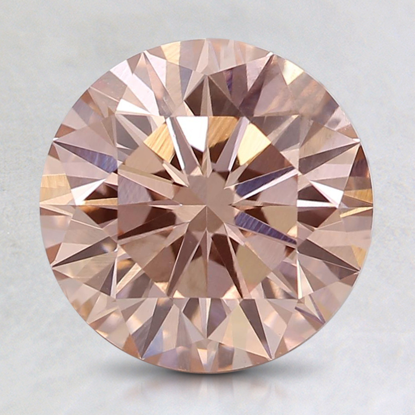 2.07 Ct. Fancy Light Pink Round Lab Created Diamond
