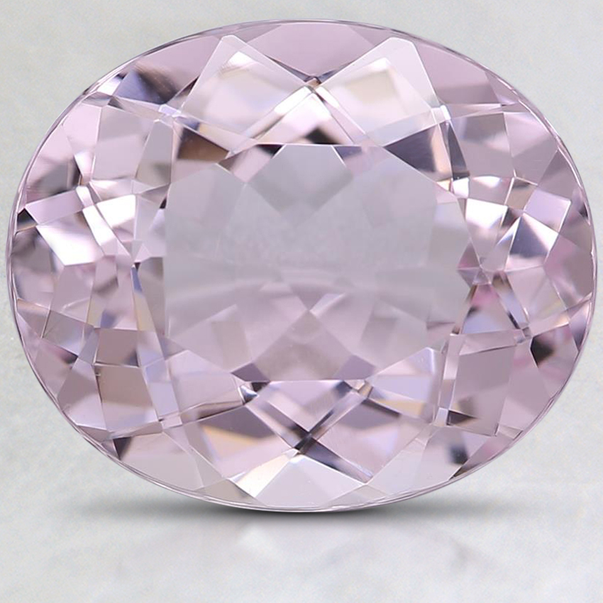 12x10mm Premium Pink Oval Morganite