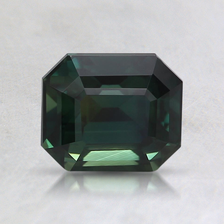 6.5x5.5mm Unheated Teal Emerald Sapphire