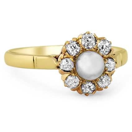 The Beatrix Ring, top view