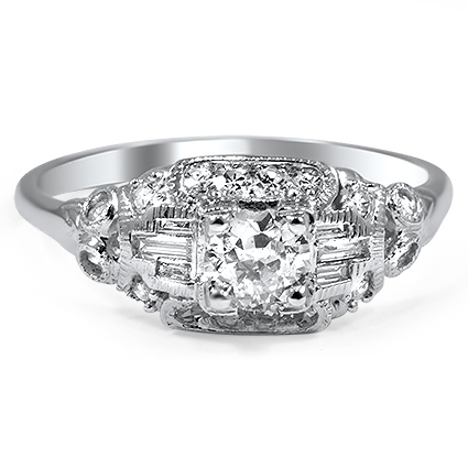 The Daniela Ring, top view
