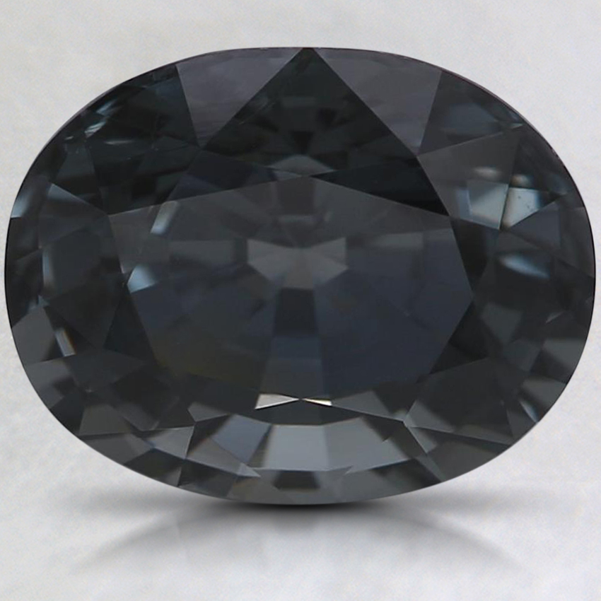 10x8mm Premium Gray Oval Spinel