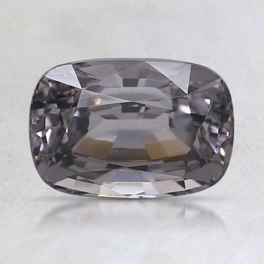 7.9x5.4mm Gray Cushion Spinel