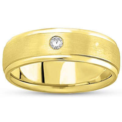 18K Yellow Gold Intrepid Ring, top view