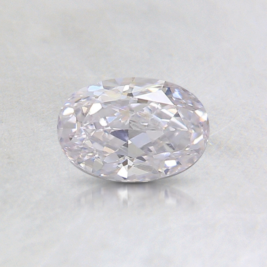 0.45 Ct. Faint Pink Oval Diamond