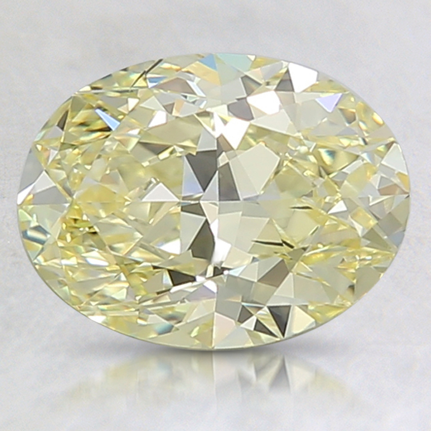 1.88 Ct. Fancy Yellow Oval Lab Created Diamond