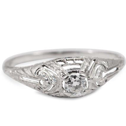 The Amarante Ring, top view