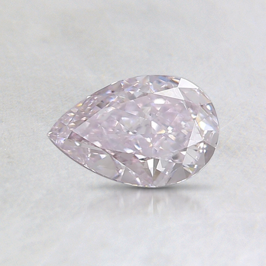 0.54 Ct. Fancy Light Purplish Pink Pear Diamond