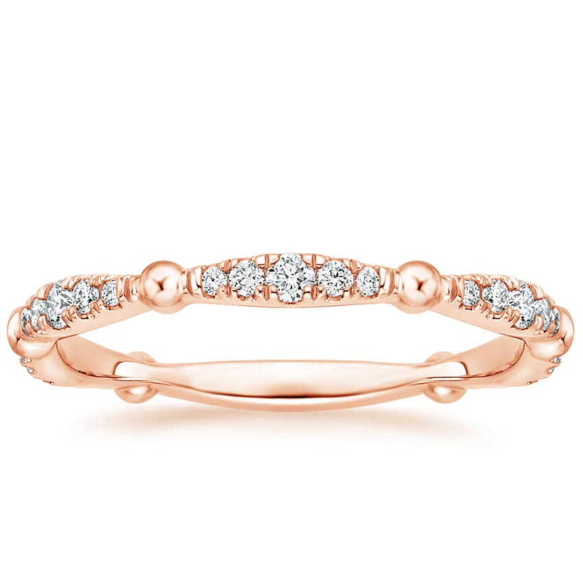 Rose Gold Dolce Diamond Ring