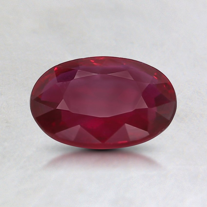 7.2x5.3mm Unheated Oval Ruby
