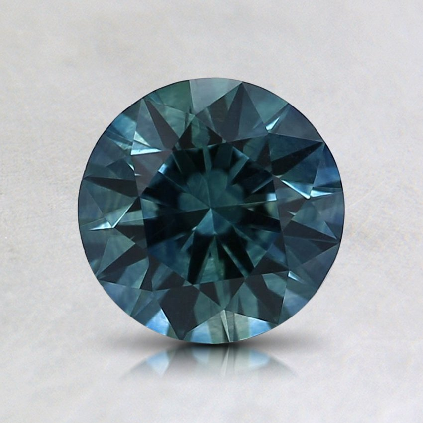 6.4mm Montana Teal Round Sapphire