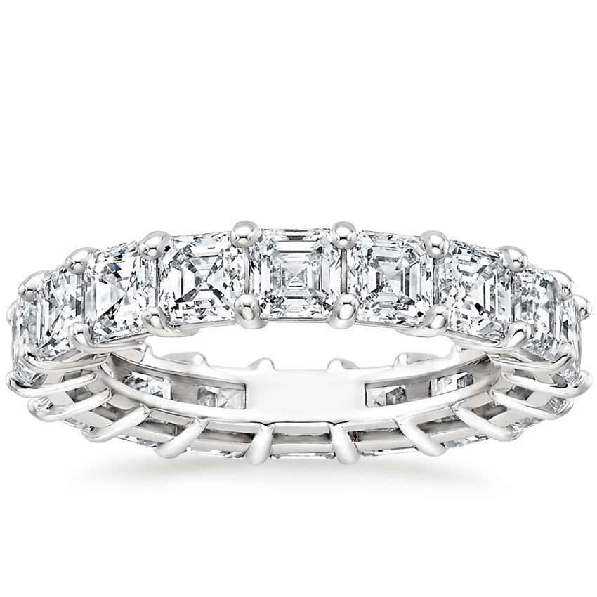 Asscher Eternity Diamond Ring (6 ct. tw.)
