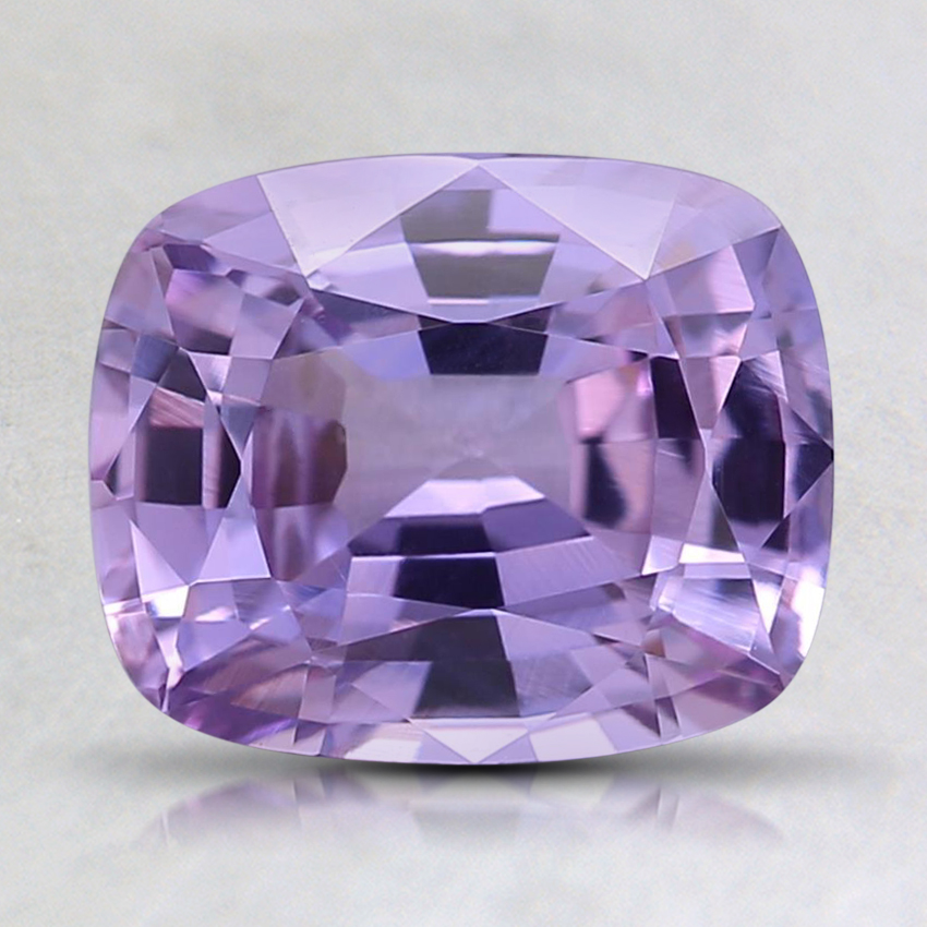 8.1x6.7mm Purple Cushion Sapphire