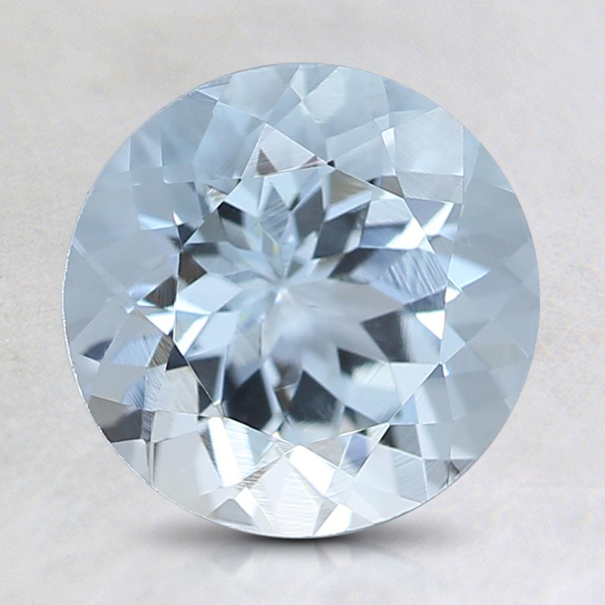 8mm Fine Round Aquamarine
