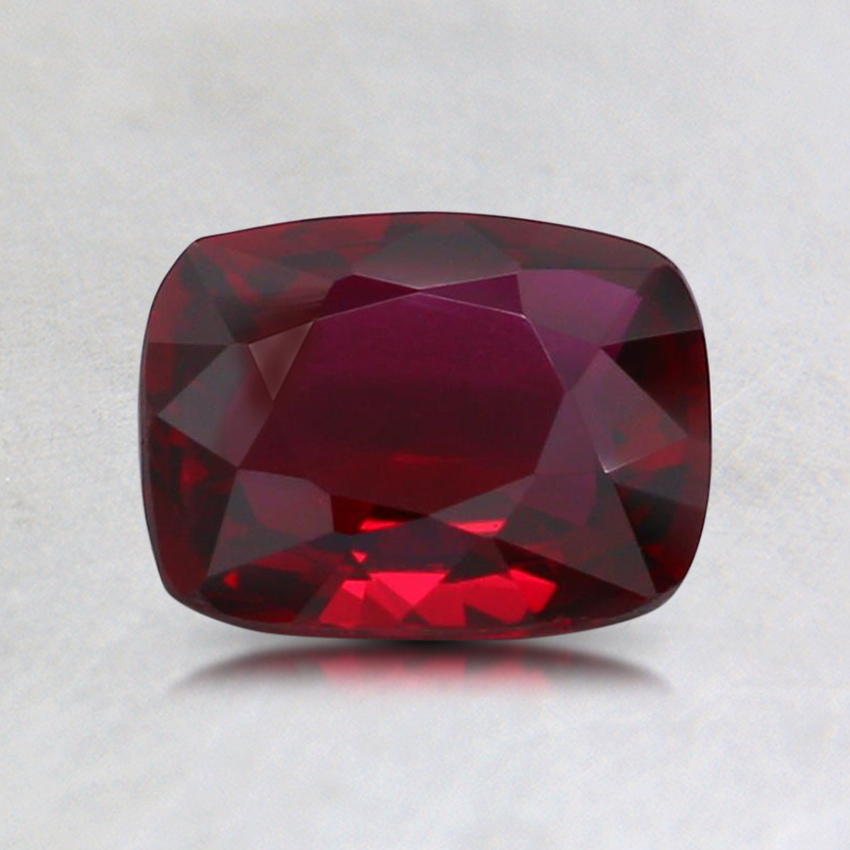 7x5.4mm Unheated Cushion Ruby