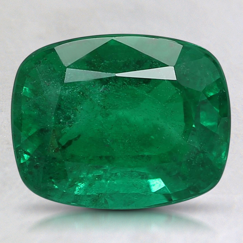 9.2x7.4mm Premium Cushion Emerald