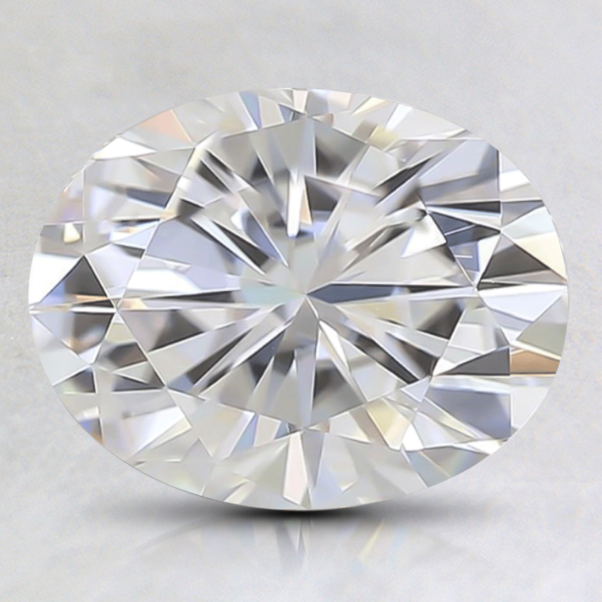 9x7mm Premium Oval Moissanite