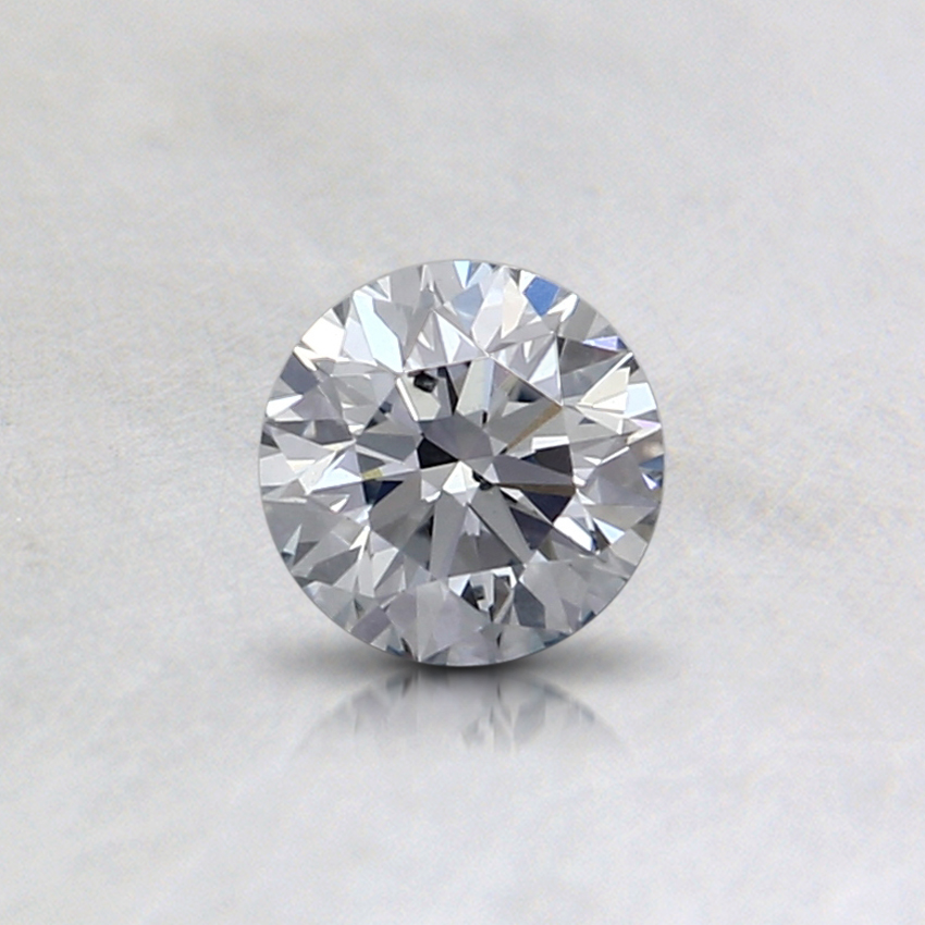 0.32 Ct. Blue Round Lab Created Diamond