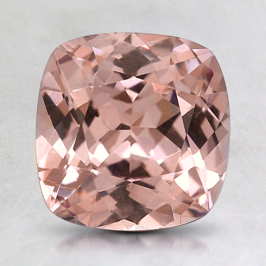 7.5mm Peach Cushion Garnet